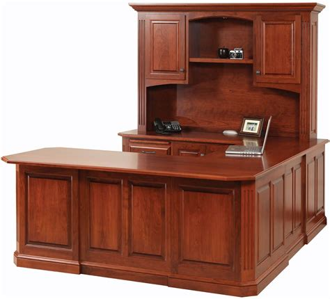 Cavalier Cherry Ushaped Desk  Countryside Amish Furniture. Green Desk Chair. Table Kitchen. Small Silverware Drawer Organizer. Walmart Round Dining Table. Teens Desk. Workstation Corner Desk. White Washed Table. Standard Desk Width