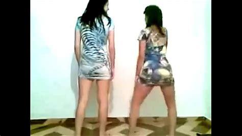 2 Brazilian Teen Dancing Hot Ass