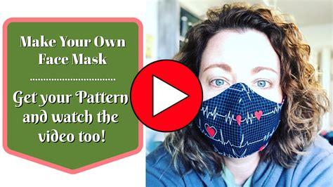 handmade face mask sew  moore