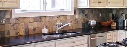 Slate Backsplashes For Kitchens Black Slate Subway Backsplash Tile Idea Backsplash Kitchen Backsplash Products Ideas