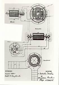 Nikola Tesla U2019s Patent  Us390721 For An Alternating Current