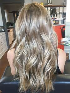 Medium Ash Blonde Hair Color with Highlights