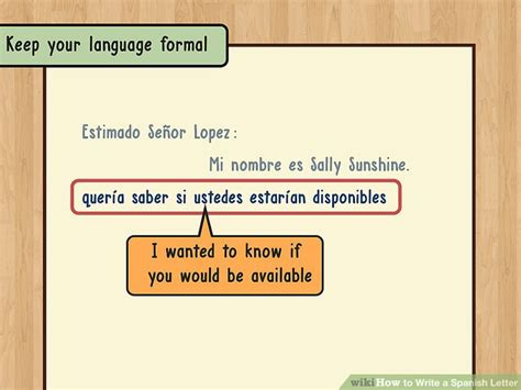 write  spanish letter  steps  pictures