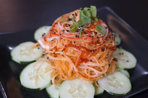 kani style japanese crab salad kravings food adventures