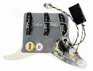 920d Custom Shop Loaded Pickguard Lace Hot Gold Clapton