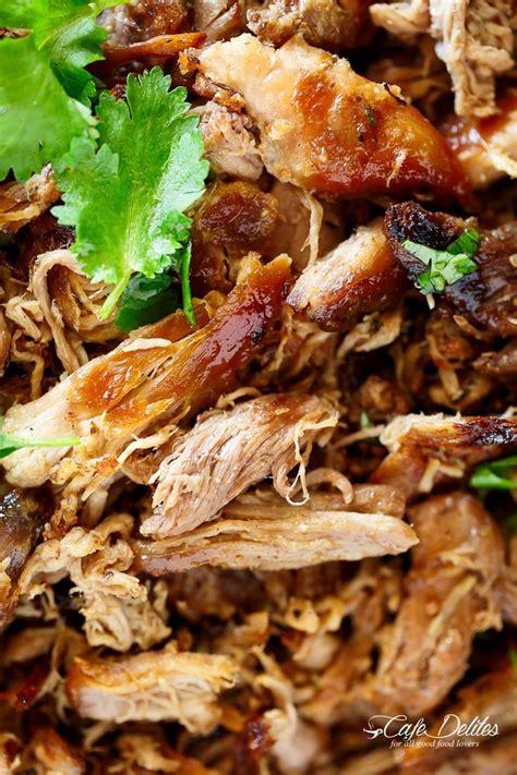 crispy pork carnitas mexican slow cooked pulled pork
