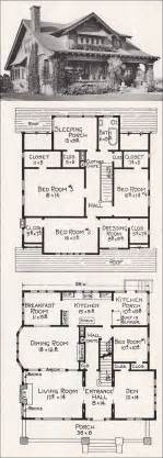 large bungalow house plans large california bungalow craftsman style home plan 1918 e w stillwell