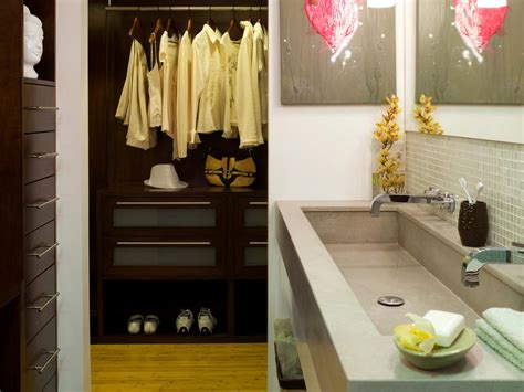 Closet In The Bathroom by Starting A Bathroom Remodel Hgtv