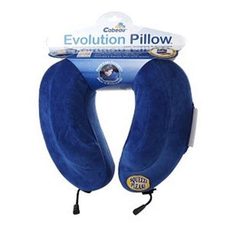 cabeau evolution pillow cabeau travel evolution pillow blue 1 ea