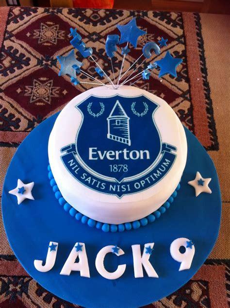 jacks everton cake football cake ideas pinterest