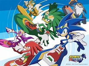 sonic riders - Sonic Characters Wallpaper (2572890) - Fanpop