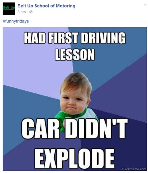 Driving School Meme - driving school bringing out the sick memes fellowkids