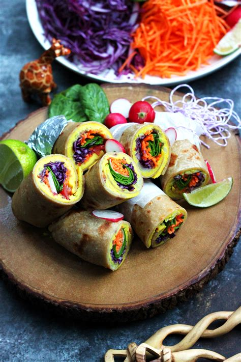 Ugandan Rolex East African Breakfast Wraps Rolled With A