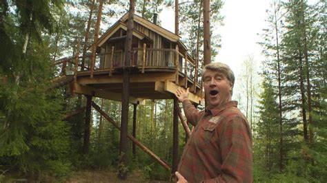 This Norwegian Viking Treehouse Is An Amazing Lakeside