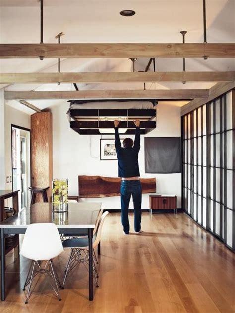 space saving retractable loft beds digsdigs