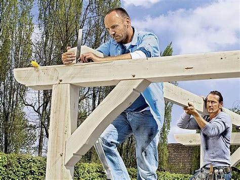 Haus Selber Bauen Schritt Für Schritt by Terrassen 252 Berdachung Selber Bauen Schritt F 252 R Schritt