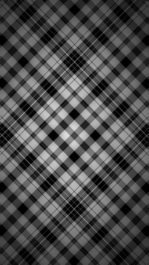 black  white check patterns iphone wallpaper black