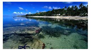 Herunterladen Ruhiges Meer   ber Korallenriff Hochwertige Tapeten  Coral Reef Wallpaper 1920x1080