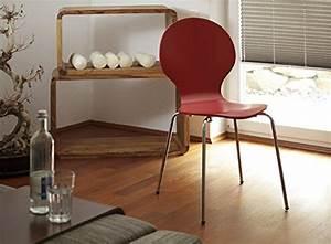 Ac Design Stuhl : ac design furniture designer stuhl im 4er set stapelbar klassiker rot online kaufen bei woonio ~ Frokenaadalensverden.com Haus und Dekorationen
