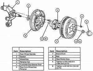 Ford Focus Rear Brake Diagram