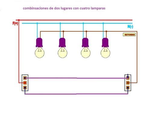 solucionado coneccion de cuatro luces de pasillo combinadas yoreparo