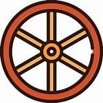 Wheel Icon Icons Carriage Vectors
