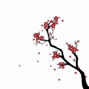 Create a Japanese Cherry Blossom Scene