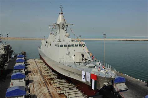 abu dhabi ship building launches uae navy corvette