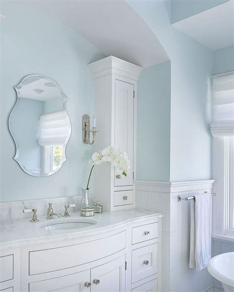 superb torchiere  bathroom farmhouse  blue bathroom