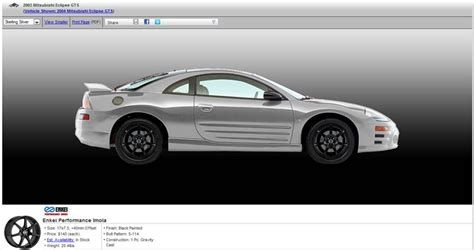 Performance Parts For Mitsubishi Eclipse by Enkei Auto Parts For Mitsubishi Eclipse Auto Parts At