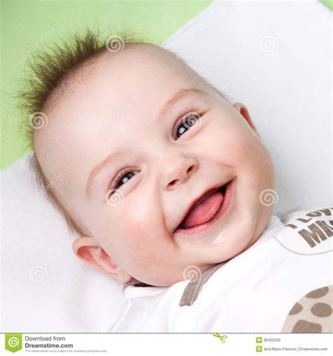 Silly Baby Stock Photo Image 36422520