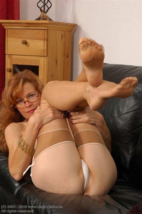Footfetisheroticnikkimilfshowsfeetinpantyhose Porn Pic From Feet My Love