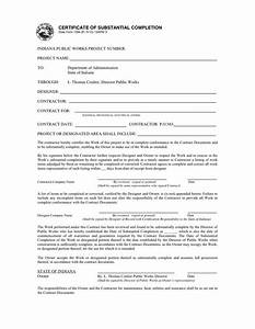 Certificate of substantial completion alberta template choice image certificate design and for Certificate of substantial completion template
