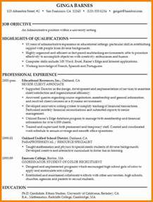 College Application Resume Exle by College Application Resume Objective Best Resume Collection