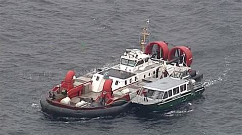 Bc Fire Boat by Passengers Rescued After Whale Watching Vessel Catches