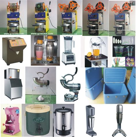 asia machinerynet  brochures bubble tea equipment