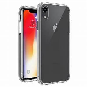 kratzfestes iphone xr hybrid hülle durchsichtig