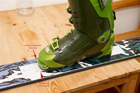 skiwerkstatt bindungsmontage powderguide