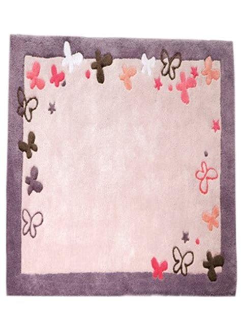 tapis fille papillons theme feerie vertbaudet acheter ce