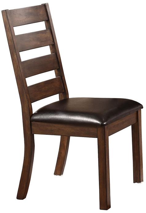 kendall ladder back side chair with upholstered seat