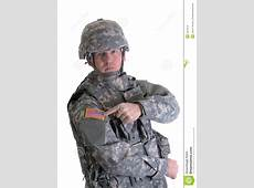American Combat Soldier Royalty Free Stock Images Image