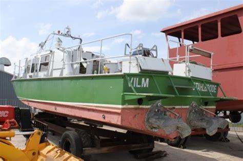 foto de Werkboot te koop: ex douaneboot Schraven Trading