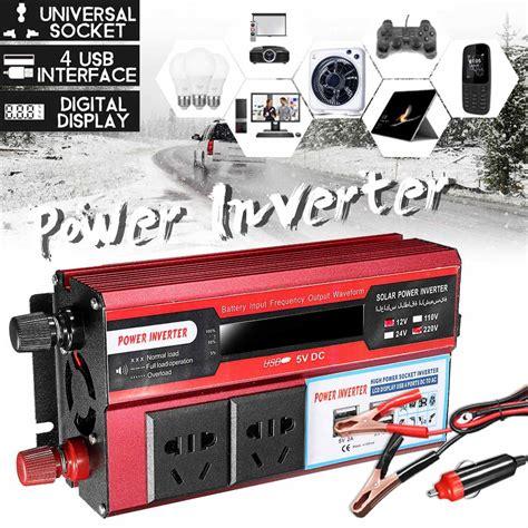 Car Inverter Voltage Converter