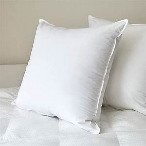 feather pillow insert extra firm czarre fine linens With are feather pillows good