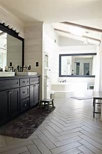 Kristi, U0026, 39, S, Modern, Farmhouse, Rustic, Glam, Master, Bathroom, Makeover