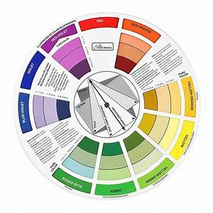 Colour Wheel Tool Mixing Paint Learning Artist Kids Guide