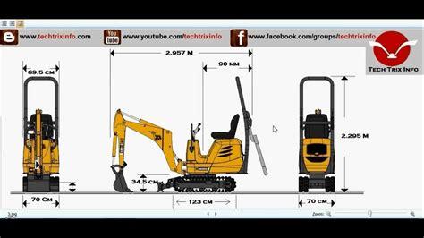 jcb micro excavator specifications youtube