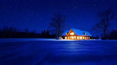 Winter Warm Nights Microsoft Night Cozy Snowy