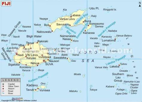 fiji map holidaymapqcom