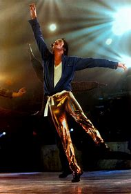 Michael Jackson Gold Pants